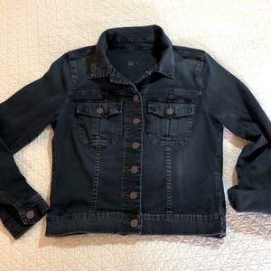 Kut Amelia Denim jacket size medium, with stretch